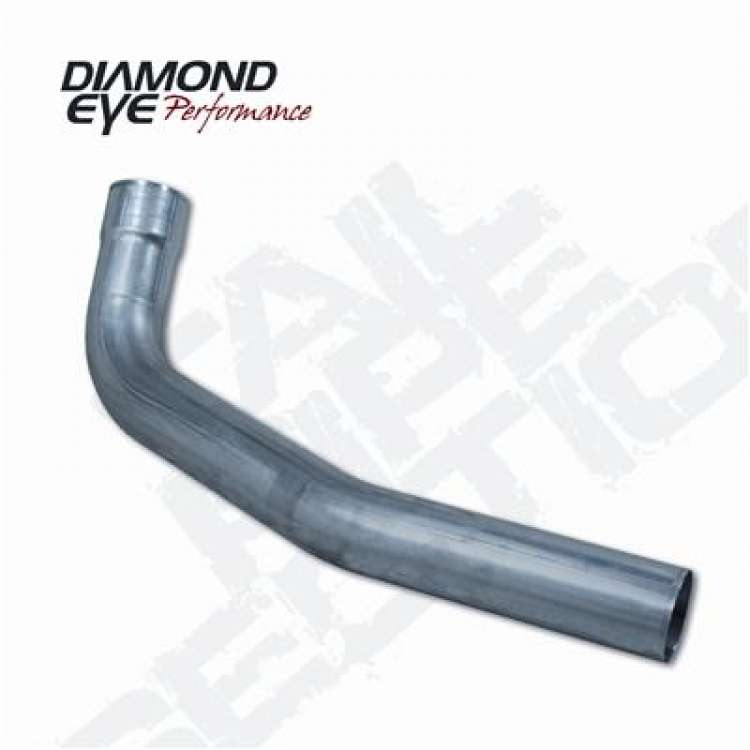 94-07 Ford 7.3L/6.0L Powerstroke Alum Diamond Eye 4 In 2nd Sec Tailpipe