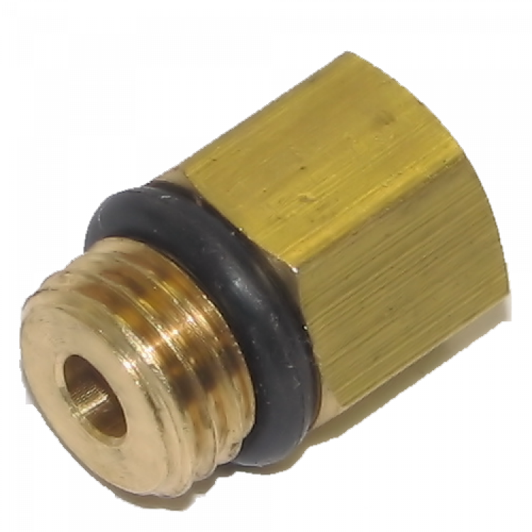Ford 6.0L Powerstroke Fuel Pressure Gauge Adapter Fitting