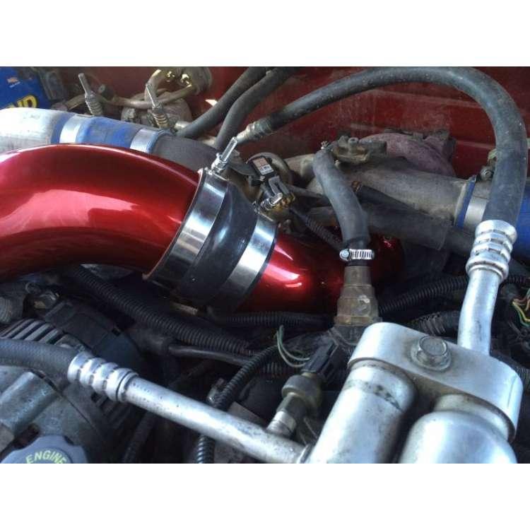 01-04 LB7 Duramax WCFAB 3.5 In Turbo Intake Horn
