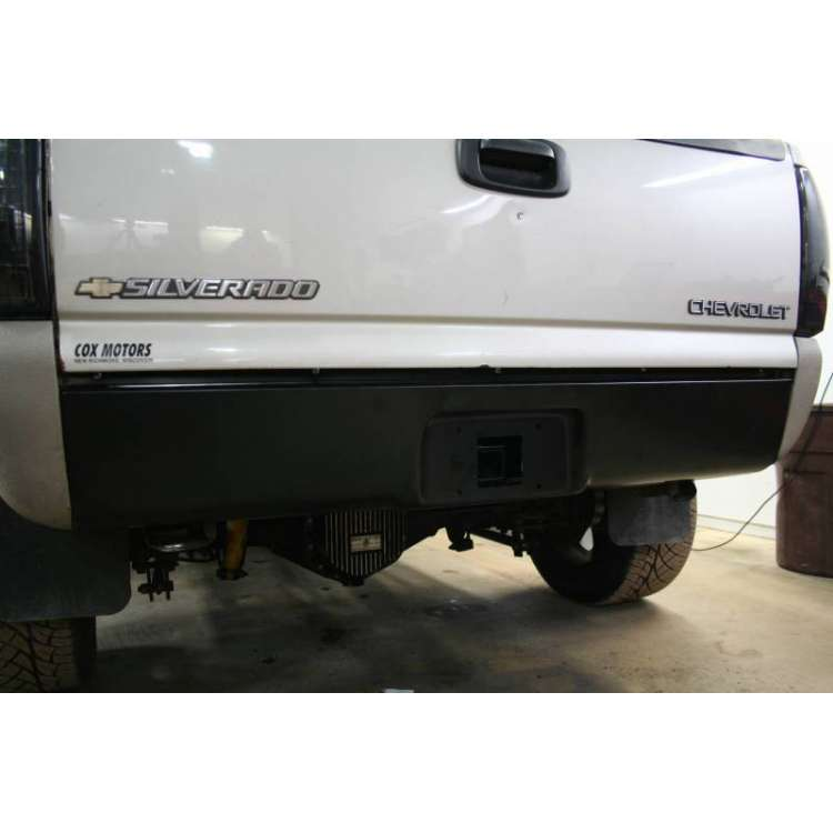 "01-10 GM Short Box Behind Roll Pan 2"" Receiver"