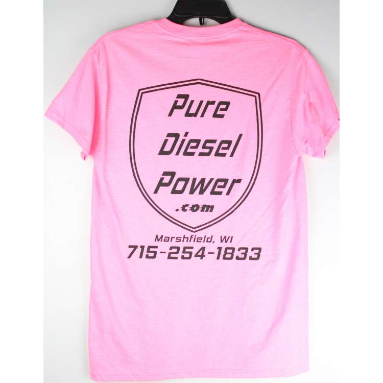 Vibrant Pink Pure Diesel Power T-Shirt