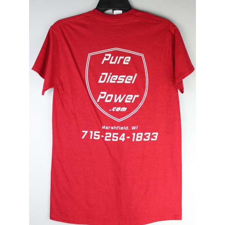 Ruby Red Pure Diesel Power T-Shirt