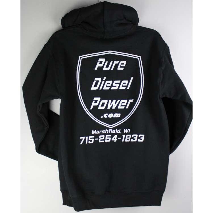 Pure Diesel Power Hooded Sweatshirt