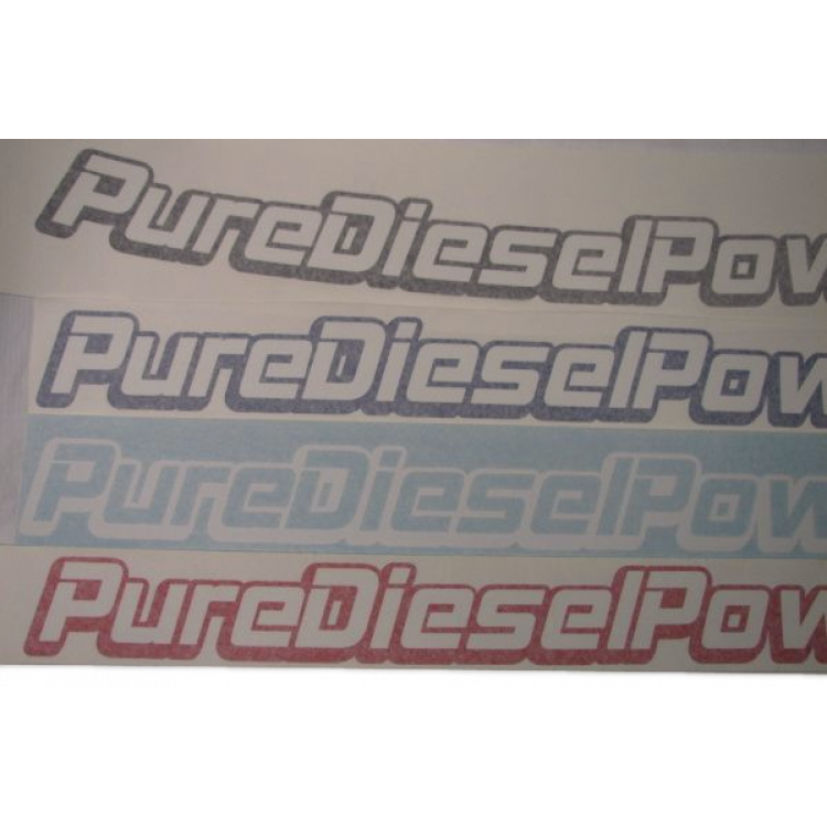 Pure Diesel Power Windshield Banner