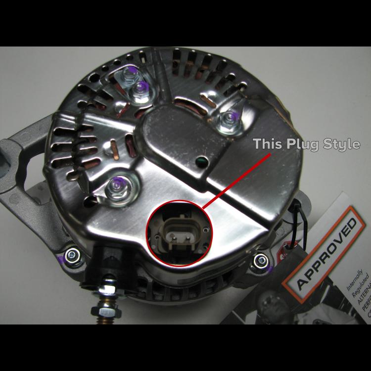 98.5-02 Dodge Cummins 2500/3500 Diesel Alternator Plug & Pigtail