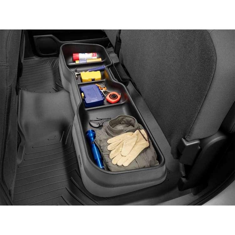 15-19 GM Silverado/Sierra Extended Cab WeatherTech Under Seat Storage System