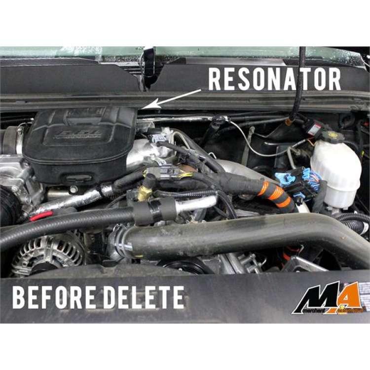 11+ GM 6.6L Duramax LML Turbo Resonator Delete Plate