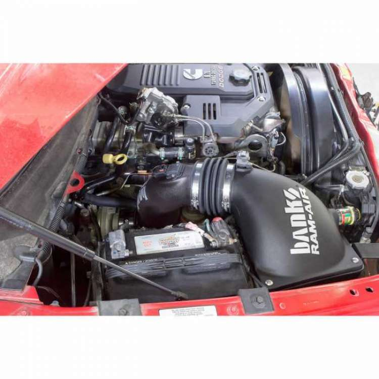 10-12 Dodge 6.7L Cummins Banks Dry Ram-Air Intake System