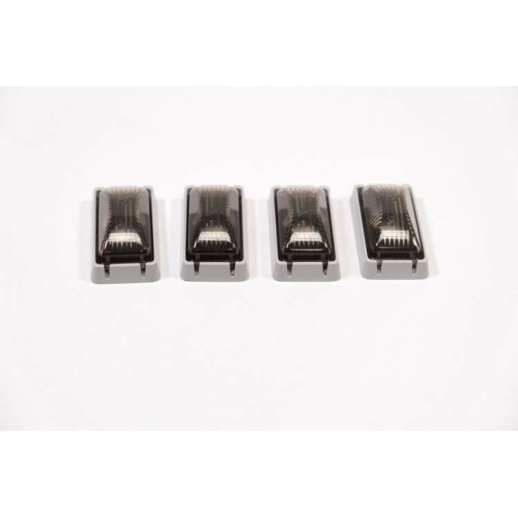 1980-1997 F-Series, Smoked OBS Dually Fender Light Kit