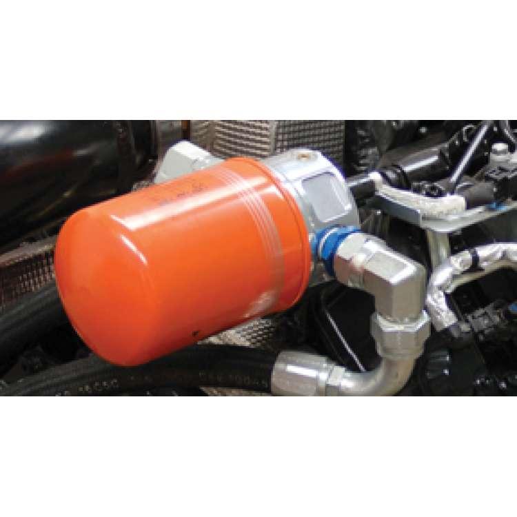 Duramax 6.6L Diesel PPE Billet Aluminum Remote Oil Filter Kit