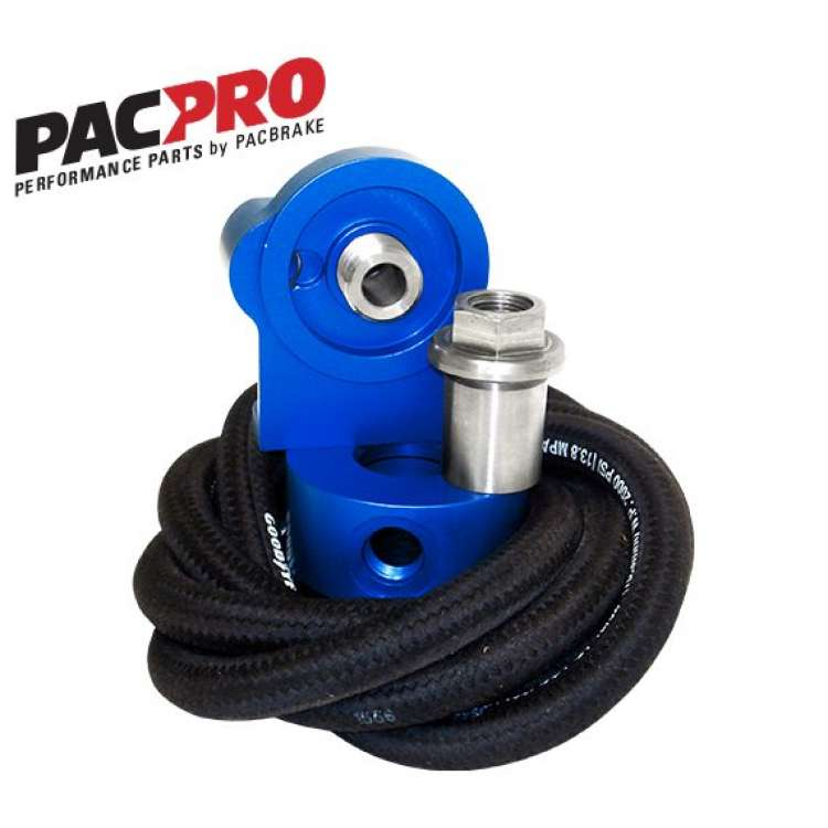 PacPro Remote Oil Filter Relocation Kit - HP10174