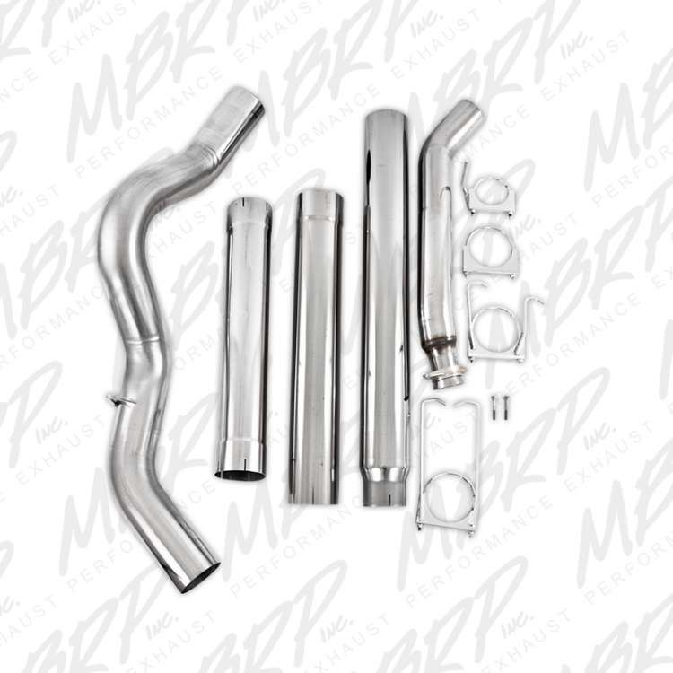 94-02 5.9L Cummins MBRP 5 In Turbo Back Stainless No Muffler Exhaust