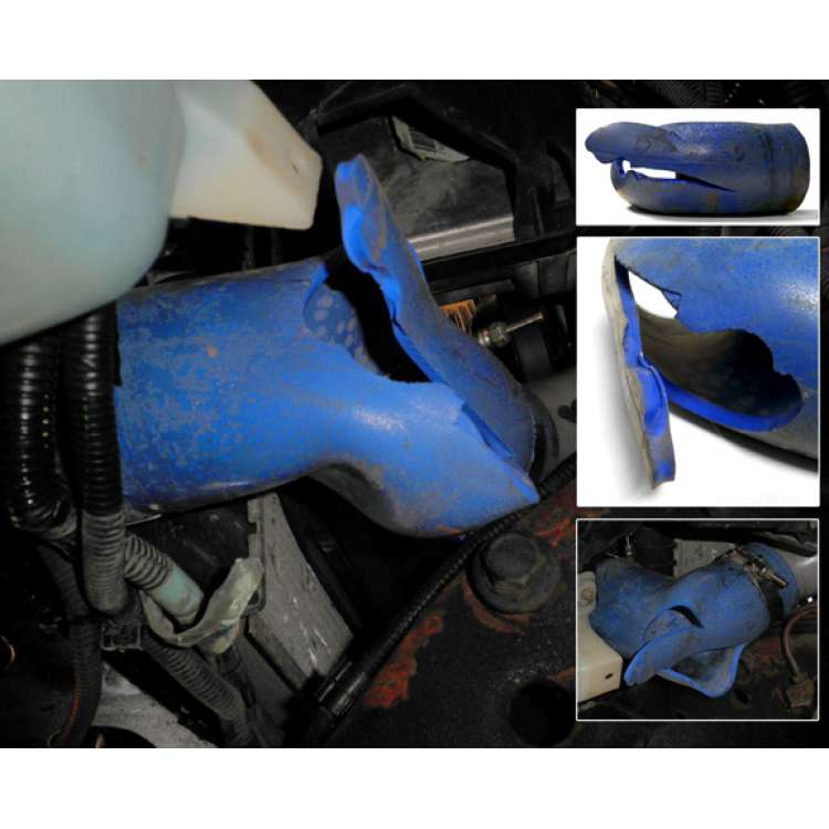 01-04 LB7 Duramax Silicone Intercooler Hose & Clamp Kit