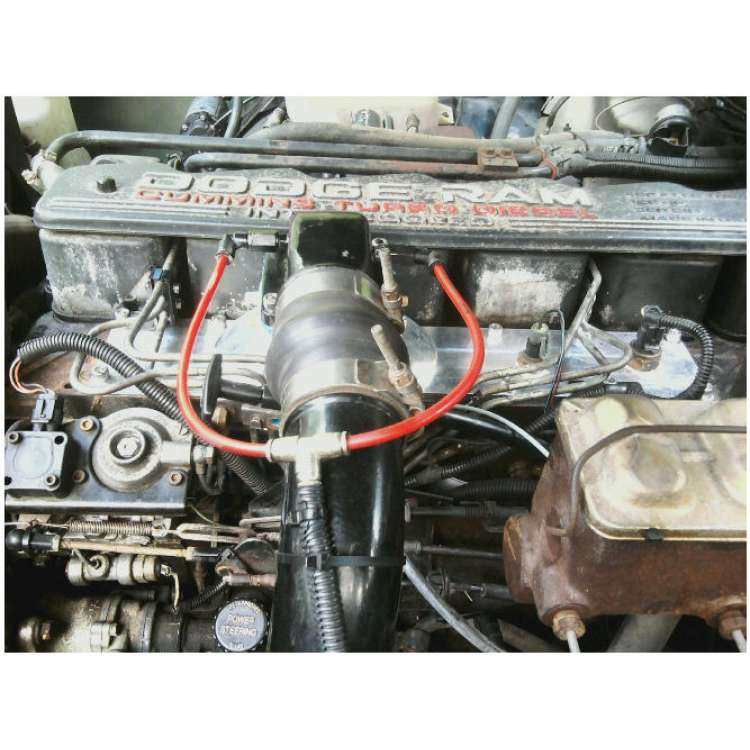 89-98 Dodge 5.9L Cummins Tunnel Ram 12 Valve Intake Plenum Cover