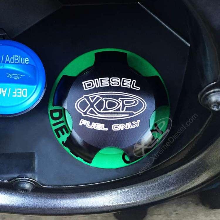 13-16 Ram 6.7L Cummins XDP Anodized Billet Aluminum Fuel Fill Cap