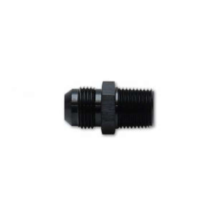 Vibrant Performance -8AN x 1/2 In NPT Straight Adapter Fitting