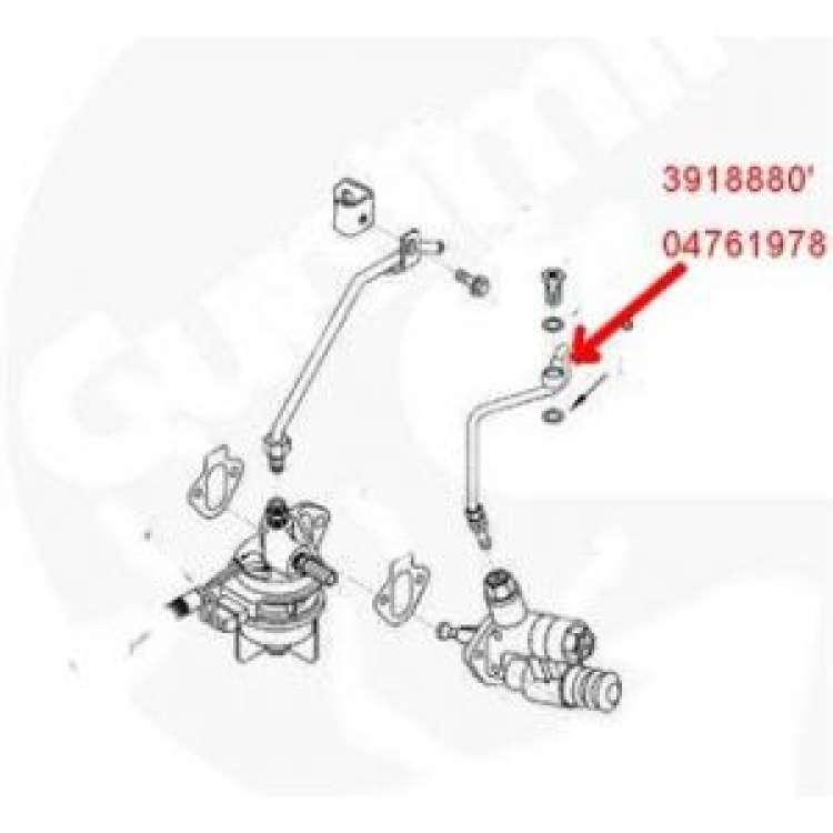 94-98.5 Dodge 5.9L Cummins Lift Pump To Filter Tube