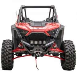 20+ Polaris RZR XP Pro Fab Fours SXS Front Bumper (black)