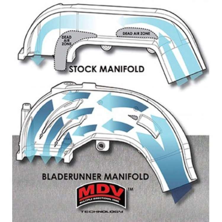 94-98 5.9L 12 Valve Cummins AFE 46-10051 Blade Runner Intake Manifold