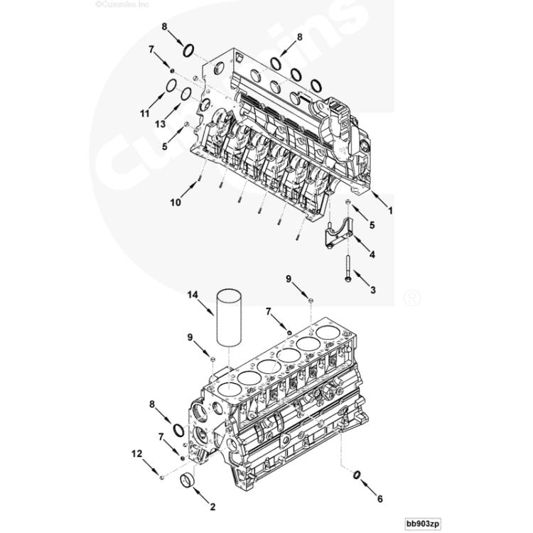 89-18 Dodge 5.9L & 6.7L Cummins Freeze Plug for Front or Side of Block