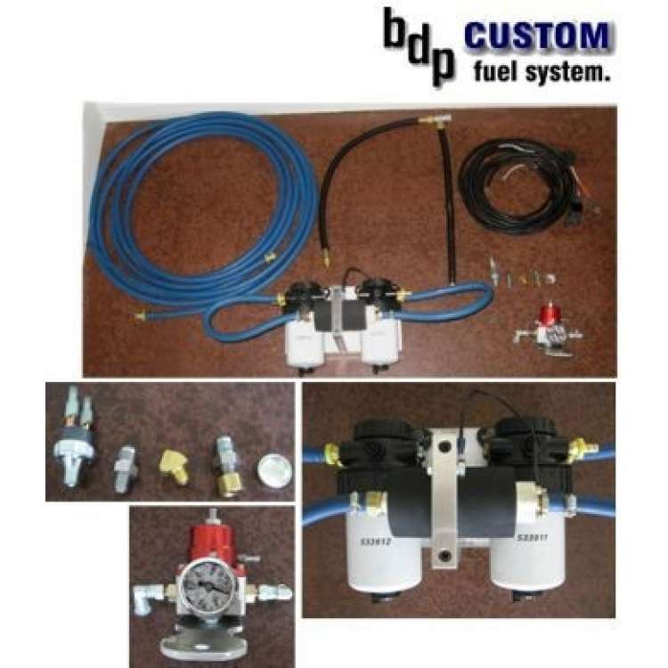 94-97 Ford 7.3L Powerstroke Complete BDP Single Pump Fuel System