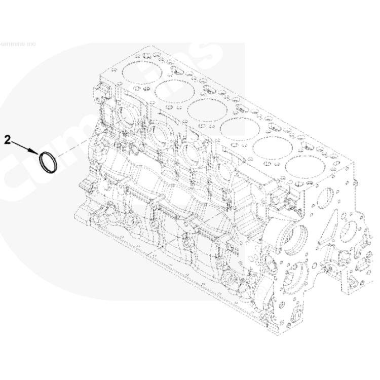 03-2015 Dodge 5.9L & 6.7L Cummins Large Freeze Plug