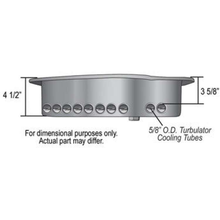 Dodge 727/47RE/48RE Derale Transmission Pan up to 5QT increase