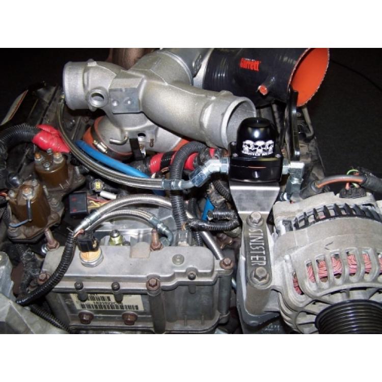 99.5-03 Ford 7.3L Powerstroke Driven Diesel Fuel Bowl Delete Regulated Return Kit