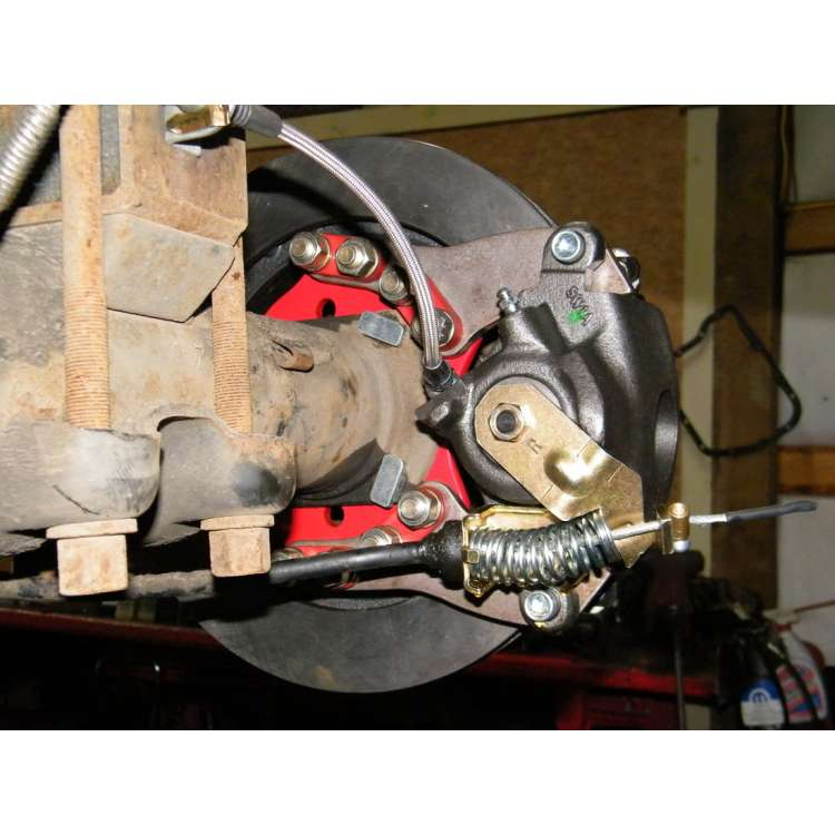 94-99 Dodge Ram 3500 DRW Rear Disc Brake Conversion Kit