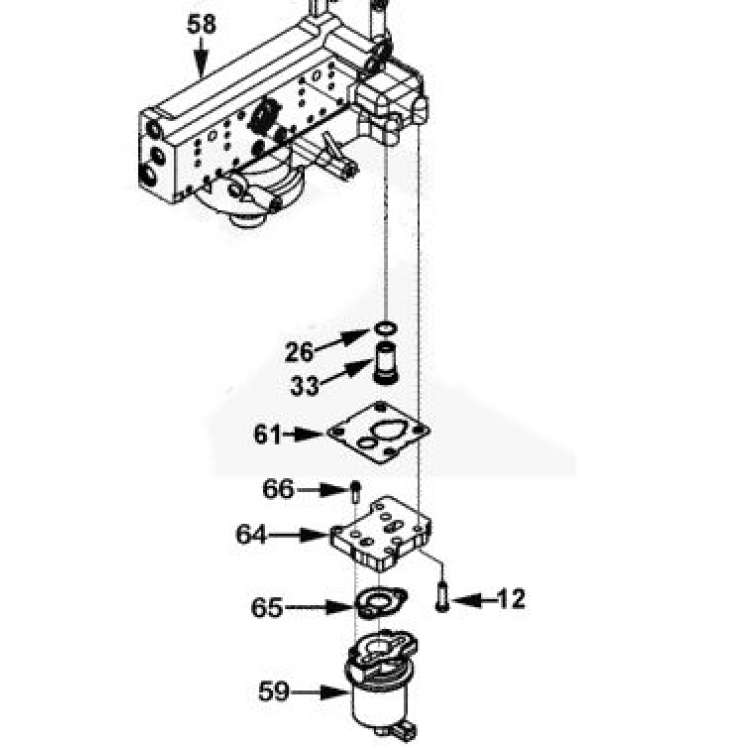Cummins ISX Fuel Pump Gasket 4954474