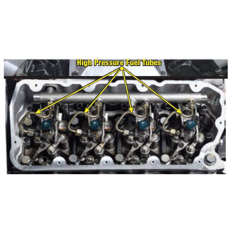 08-10 Ford 6.4L Powerstroke OE Injection Line