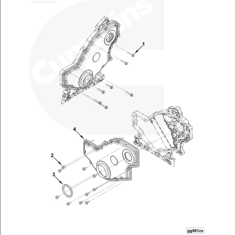 07.5+ Dodge 6.7L Cummins Front Crank Seal