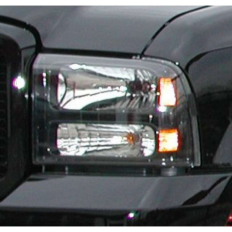 99-2004 Ford Super Duty to 2005 Harley Headlight Conversion Kit