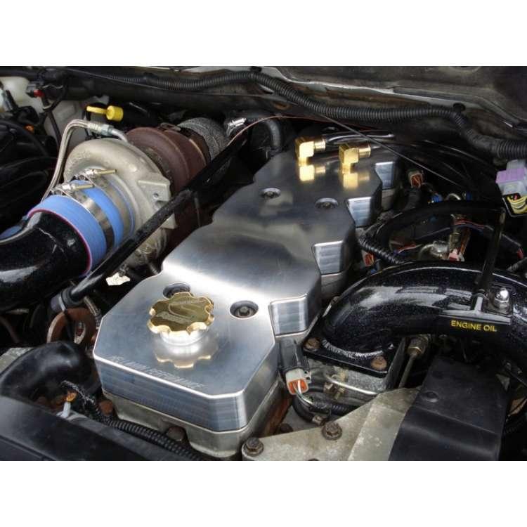 Hellmann Performance 03-07 Dodge 5.9L Cummins Billet Aluminum Valve Cover