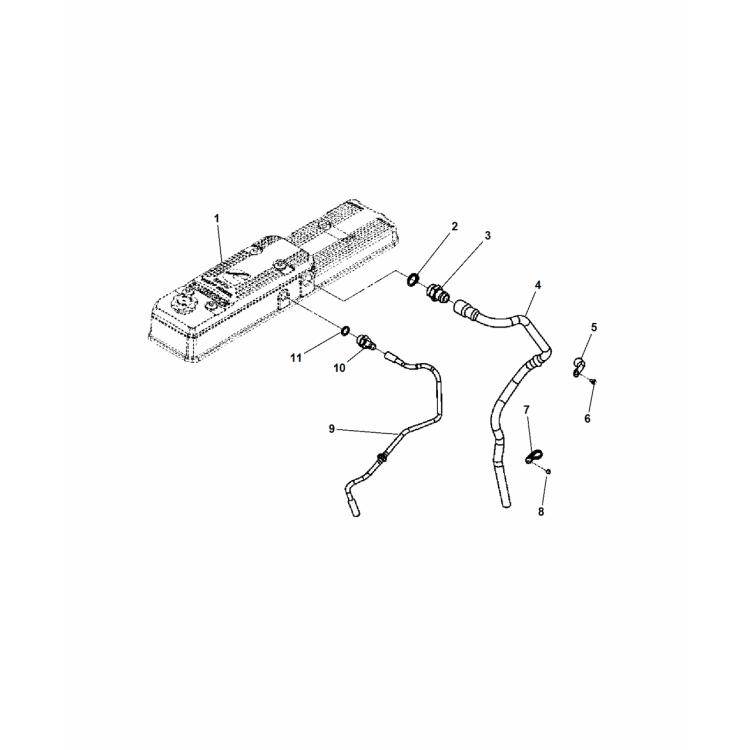 03-07 Dodge 5.9L Cummins BD Pulse Exhaust Manifold