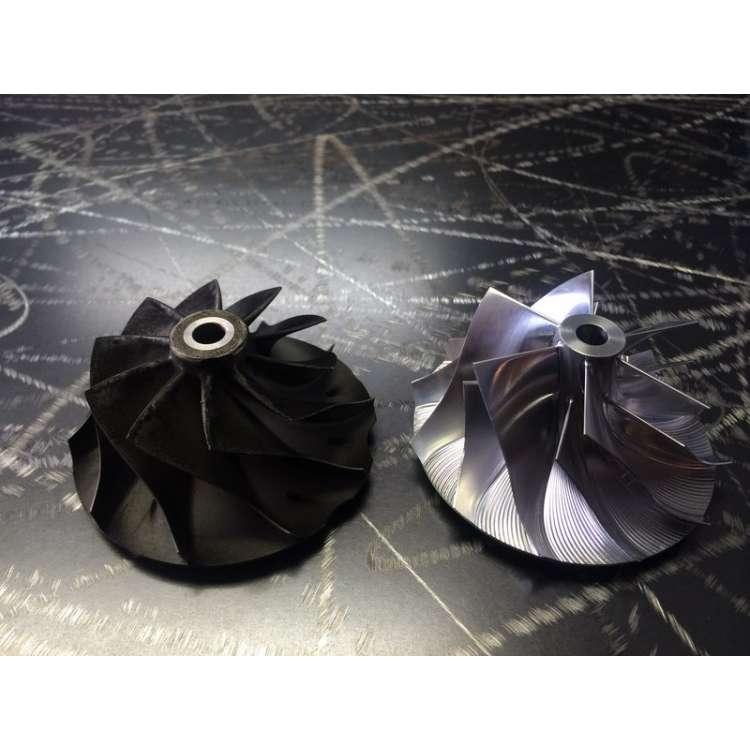 01-04 LB7 Wetzel Billet Performance Compressor Wheel