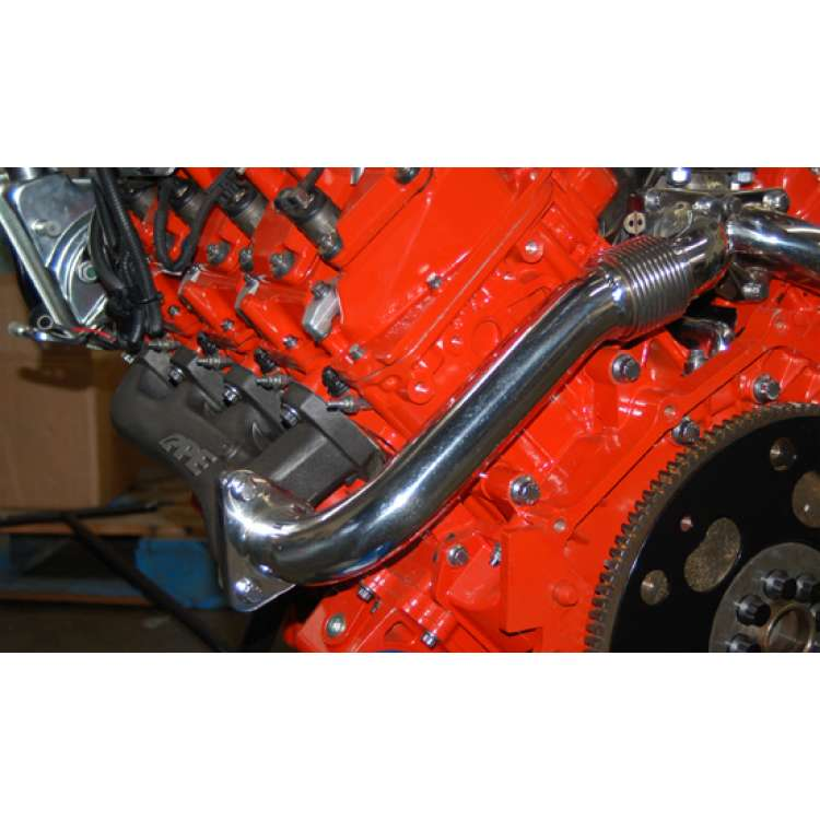 01-15 GM 6.6L Duramax High Flow Exhaust Manifold w/Up-pipes