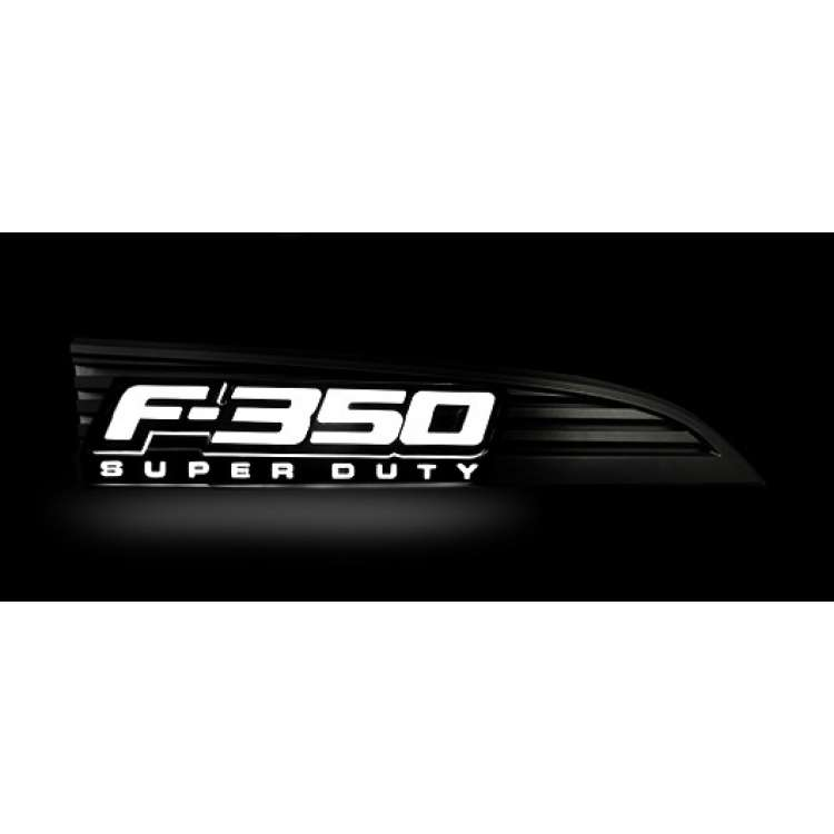 11-16 Ford F-350 RECON LED Illuminated Side Emblems