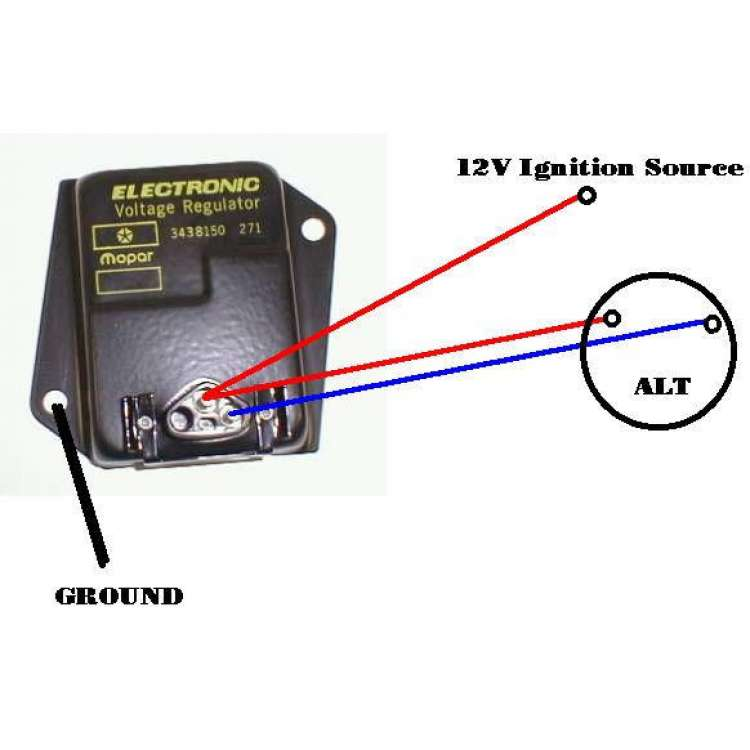 89-02 Dodge Cummins External Voltage Regulator