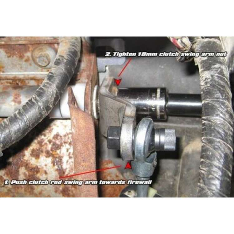 Ford Clutch Rod Repair
