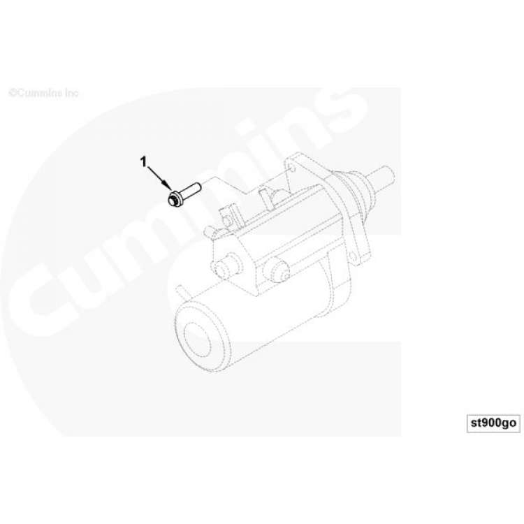 94-07 Dodge 5.9L Cummins Starter Mount Bolt