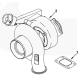 T4 Undivided Turbo Flange Gasket
