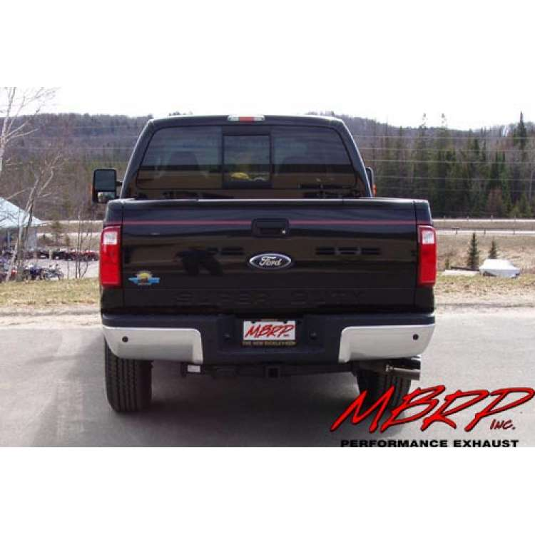 08-2010 Ford 6.4L Powerstroke Diesel MBRP T5111 Stainless Exhaust Tip Cover Set