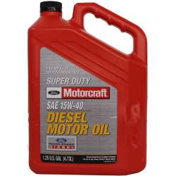 Motorcraft 15W40 Diesel Motor Oil - 5 Quart Jug